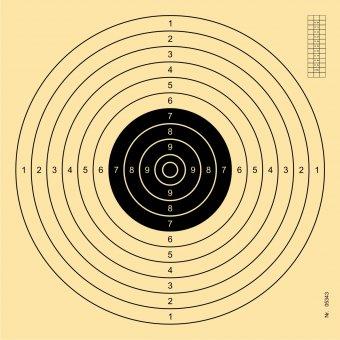 25/50/100m target, 4 slots small