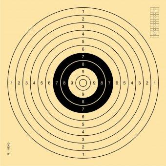 multi-distance target