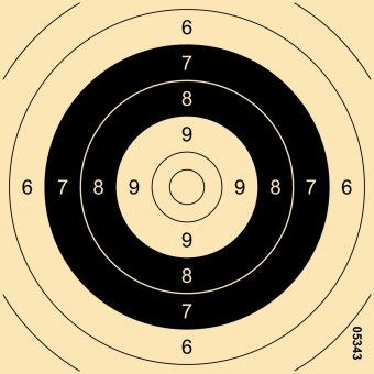 Centre for multi-distance target