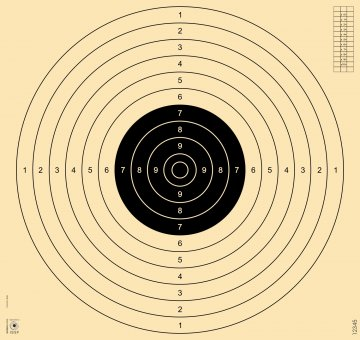 25/50/100m target, 4 slots