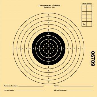 Zimmerstutzen target