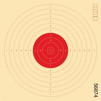 LP-Scheibe ROT